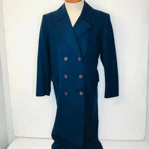 VTG Pendleton Wool Double Breasted Trench Coat 12